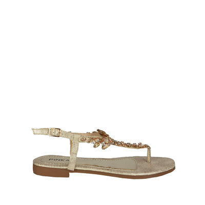 JAIMY Felice diamond sandal gold