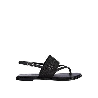 CALVIN KLEIN Flat sandal toe