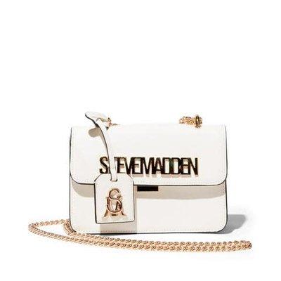 STEVE MADDEN Bstakes bag white