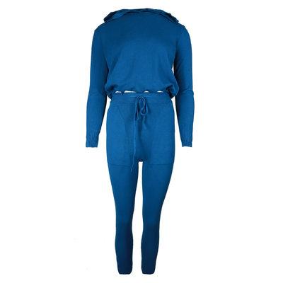 JAIMY Hoodie loungewear set blue