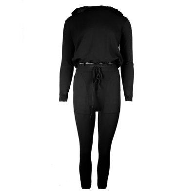 JAIMY Hoodie loungewear set black