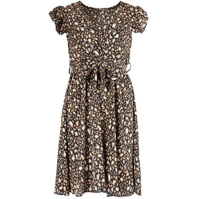 JAIMY Lenora leopard dress black/brown