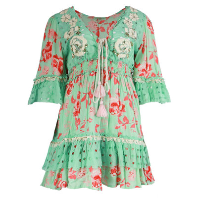 JAIMY Musthave ibiza flower dress green