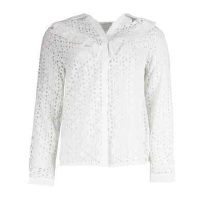 JAIMY Crochet blouse white