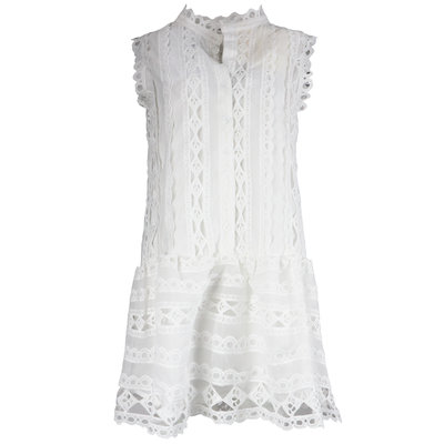 JAIMY Ivana dress white