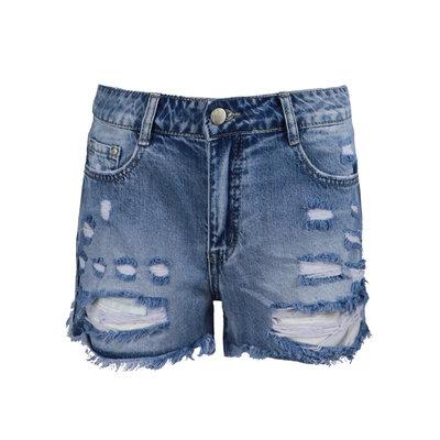 JAIMY Destroyed denim shorts