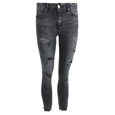 JAIMY Nicky destroyed jeans grey