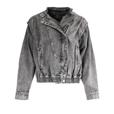 JAIMY Oversized denim jacket grey