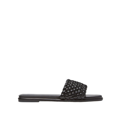 MICHAEL KORS Amelia braided slide sandal