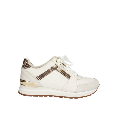 MICHAEL KORS Billie trainer cream