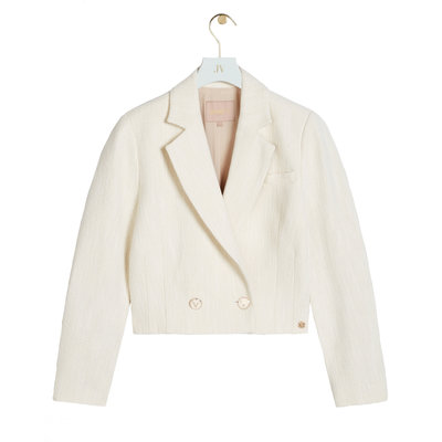 JOSH V Dominique blazer whisper white