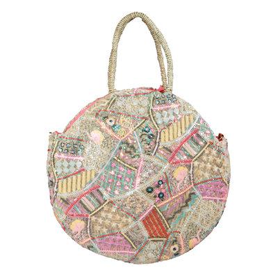 JAIMY Patchwork beach bag