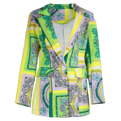 JAIMY Kimberly printed blazer green