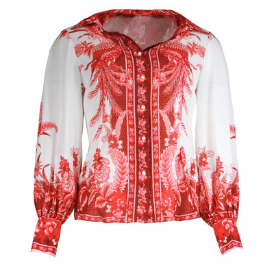 JAIMY Odilia printed blouse red