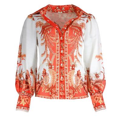 JAIMY Odilia printed blouse orange