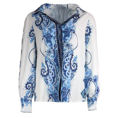 JAIMY Tara printed blouse blue