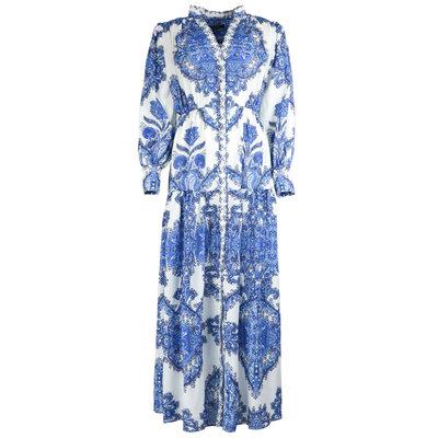 JAIMY Kaylen printed maxi dress blue