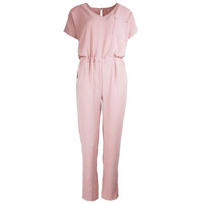 JAIMY short sleeve jumpsuit pink
