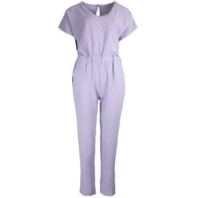 JAIMY Short sleeve jumpsuit lilac