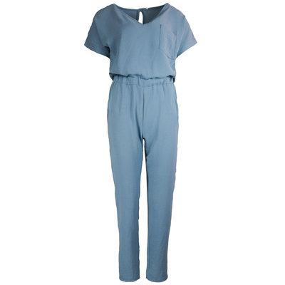 JAIMY Short sleeve jumpsuit blue