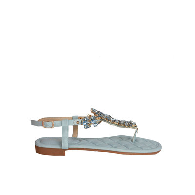 JAIMY Pam diamond sandal light blue