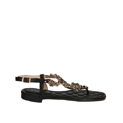 JAIMY Pam diamond sandal black