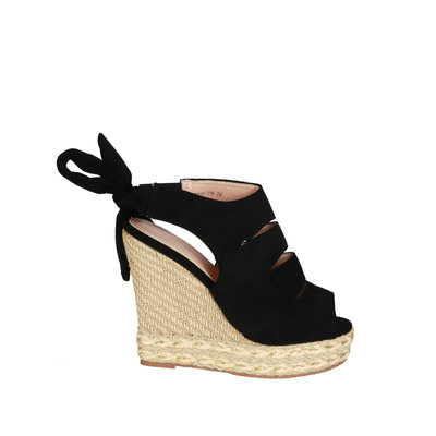 JAIMY Mirthe wedge black