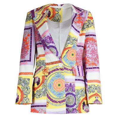 JAIMY Kimberly printed blazer yellow/lilac