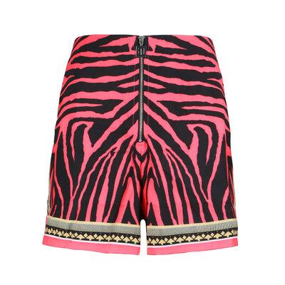 JAIMY Jazy zebra short pink