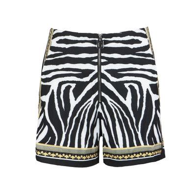 JAIMY Jazy zebra short black