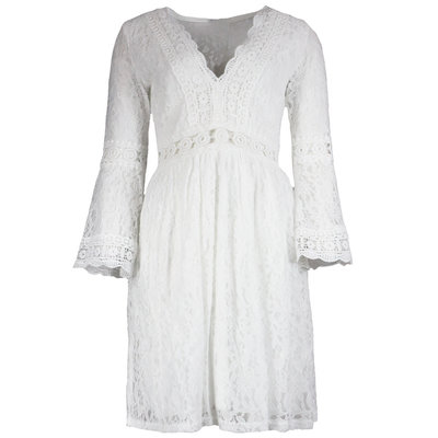 JAIMY Chrissy ibiza dress white