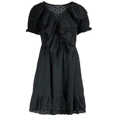 JAIMY Tamara crochet dress black