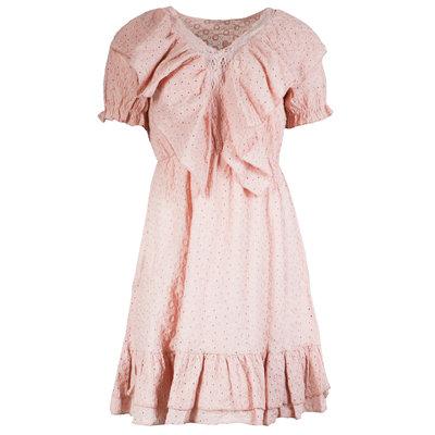 JAIMY Tamara crochet dress pink