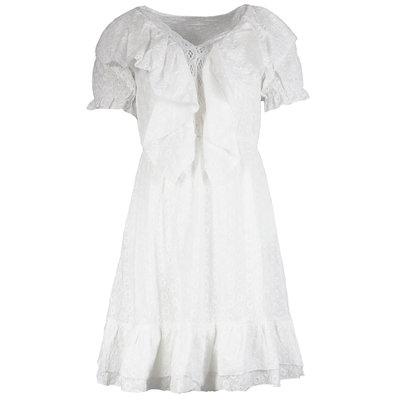 JAIMY Tamara crochet dress white