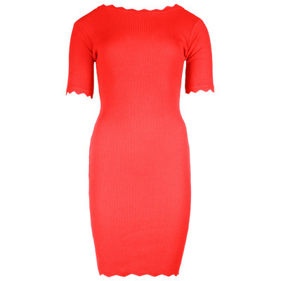JAIMY Thalise low back dress red