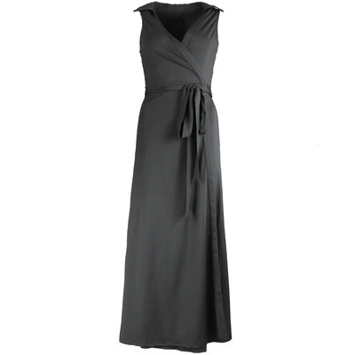 JAIMY Maxi travel wrap dress black