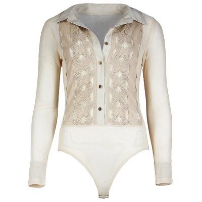 JAIMY Bella mesh body beige