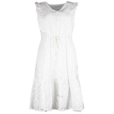 JAIMY Saar crochet dress white