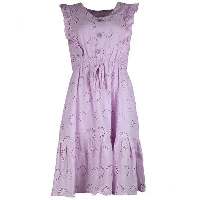 JAIMY Saar crochet dress lilac