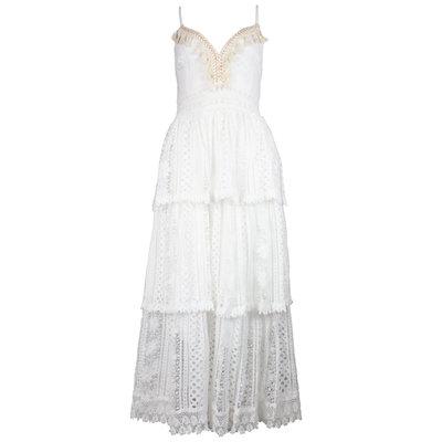 JAIMY Celeste maxi dress white