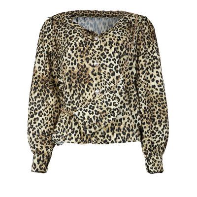 JAIMY Leopard blouse with bag