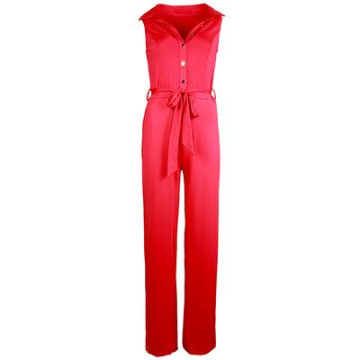 JAIMY Travel jumpsuit red