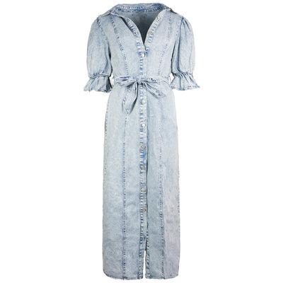 JAIMY Rhona puff sleeve denim dress