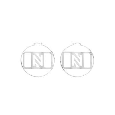 NIKKIE Lore earrings silver