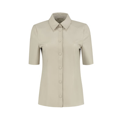 FIFTH HOUSE Magno blouse almond