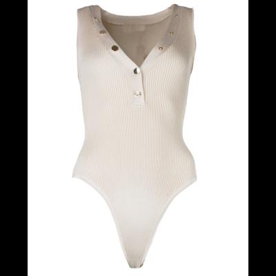 JAIMY Noa button body beige