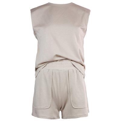 JAIMY Kensley comfy 2-piece set beige