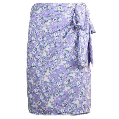 JAIMY Alena printed wrap skirt