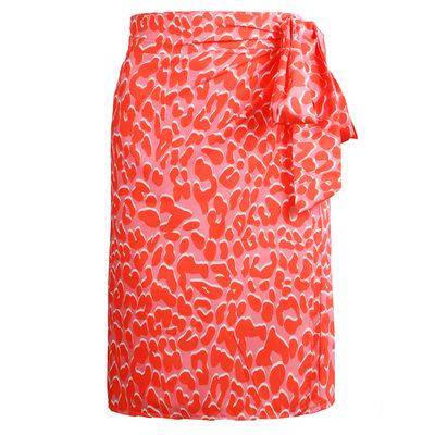 JAIMY Katelyn printed wrap skirt
