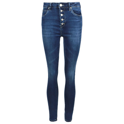 JAIMY Perfect button skinny jeans dark blue